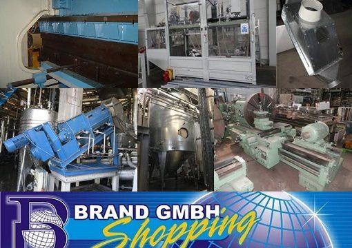Gebrauchte Industrieanlagen, Verfahrenstechnik und Metall- und Holzbearbeitungsmaschinen – Brand GmbH Riesa