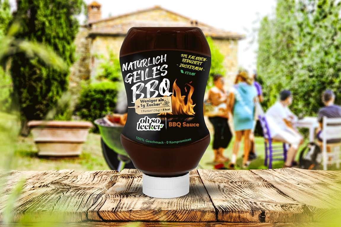 BBQ_Webshop-k-1 NEU: Grillspaß mit den Produkten von ohso lecker – kalorienarme Saucen ohne künstliche Zuckerzusätze, passend zur Grill-Season