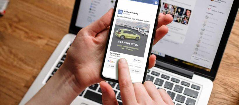 LDB Gruppe hilft Autohäuser Facebook-Anzeigen zu schalten