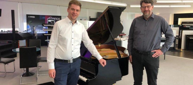 Von links: Simon Bender und Jens Olbrich