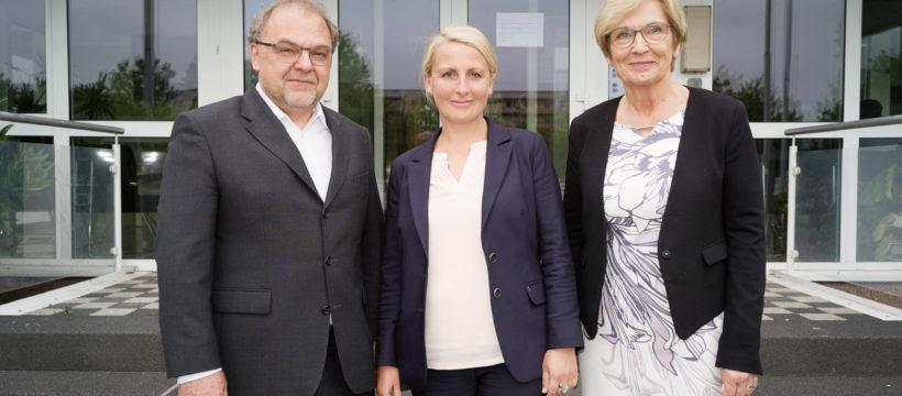 Neuer und alter Vorstand der Lipsia