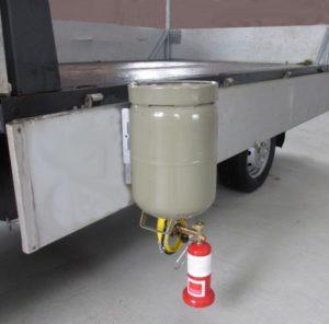 PERKEO_TRAX_Bild1_klein-300x296 Patentierte Neuheit bei PERKEO: T.RAX Transport- und Umfüllsystem für Propangas-Flaschen