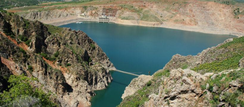 Hydropower plant in Uzbekistan