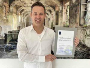 Rene-Proske-VDR-Award_web-300x225 Proske zum ersten VDR Innovation Champion gekürt