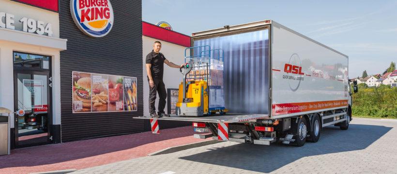 QSL Gruppe und BURGER KING® verlängern Zusammenarbeit in Italien und der Schweiz (Bildrechte liegen bei der Meyer Quick Service Logistics GmbH & Co.KG)