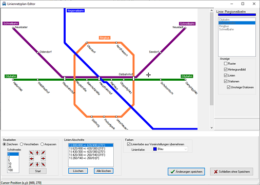 LineMap Draw Screenshot